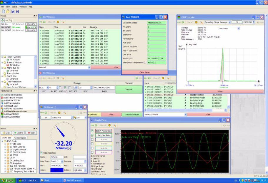 XCT Software Screenshot
